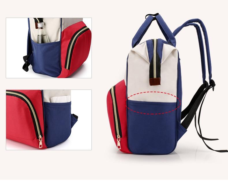 HTB1azVXcRGE3KVjSZFhq6AkaFXar Large Capacity Mummy Bag Maternity Nappy Bag Travel Backpack Nursing Bag for Baby Care Women's Fashion Bag