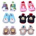 Детские сначала ботинки ходока Младенца schoenen обувь Детские Мокасины Мягкой Подошве Милые детская обувь Мальчик Девочка Новорожденных Детская Кровать В Обуви