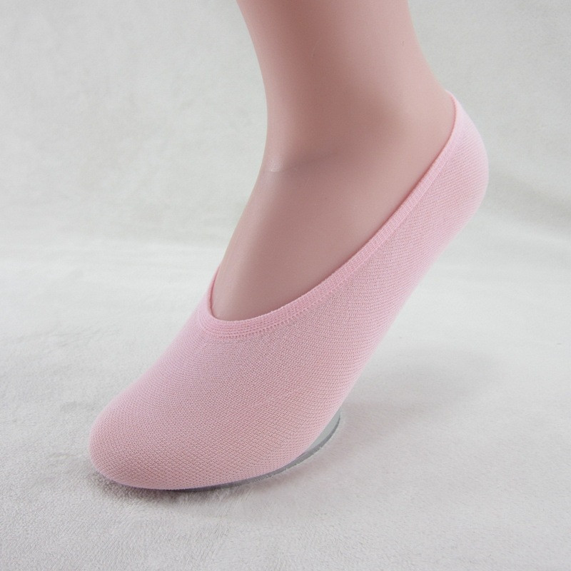 Warm comfortable cotton bamboo fiber girl women's socks ankle low female invisible  color girl boy hosiery  2pair=4pcs WS53