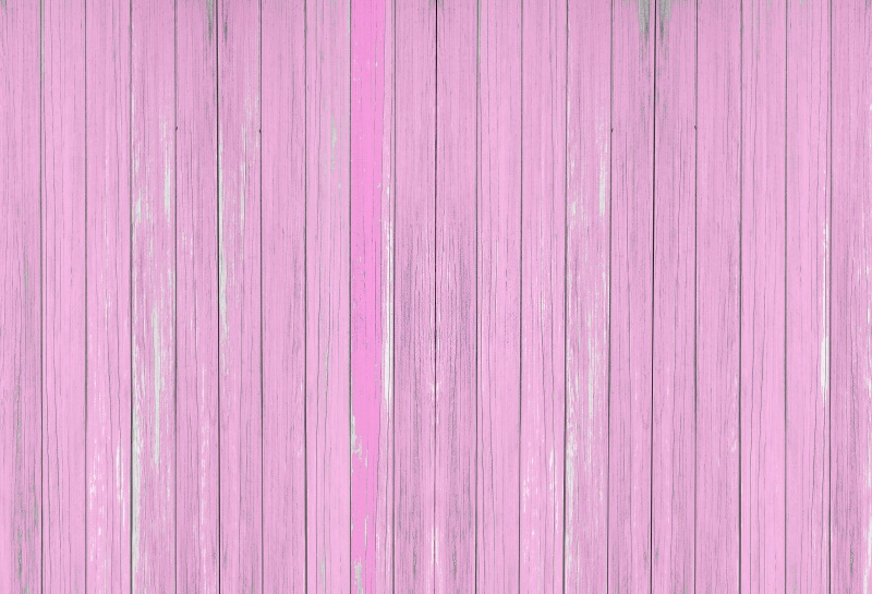 Laeacco Pink Wooden Boards Wood Texture Photography
