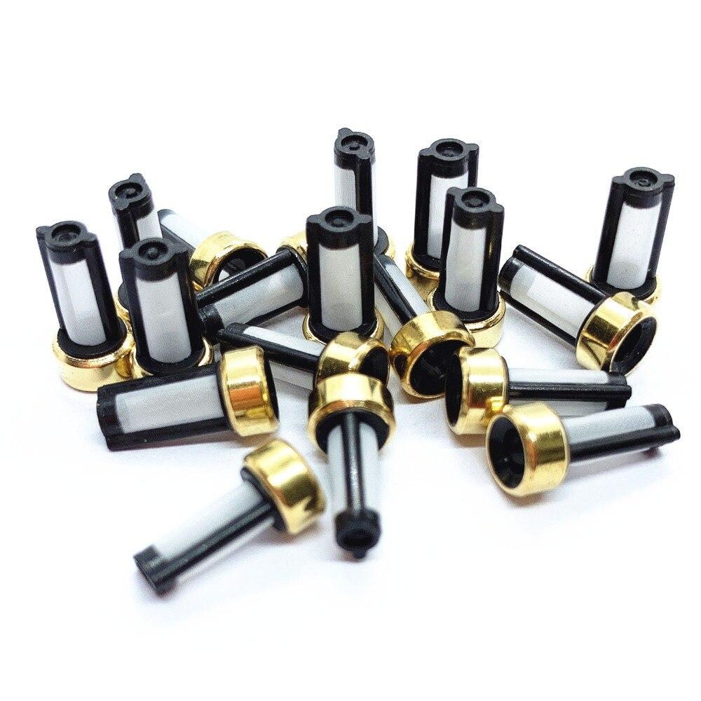 DHL UPS envío gratis 5000 piezas ASNU03C inyector de combustible Universal Micro filtro diámetro 6mm * 12mm * 3mm para los coches de reemplazo (AY-F101)