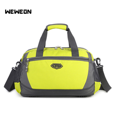 Large Capacity Women Sport Bags Men Fitness Waterproof Bag 2017 Hot Selling Nylon Outdoor Unisex Portable Gym Training Bag