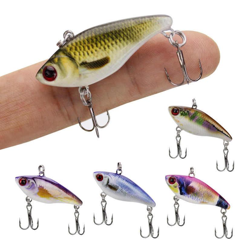 Nouveau Long tir leurre de pêche 4cm 3.5g pédaliers 1 pièces Micro dur Pesca appâts artificiels Mini leurre méné pour brochet grosse truite