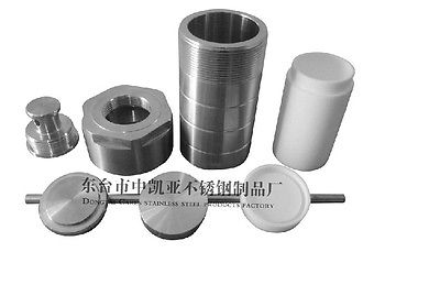 100ML Teflon lined Hydrothermal synthesis reactor High Pressure PTFE Lined