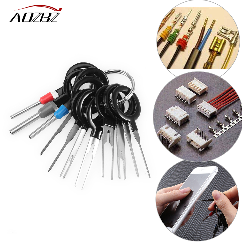 Ambuker 26-24AWG 100pcs White Insulated Heat Shrink Butt Wire Electrical Crimp tubing Terminal Connector