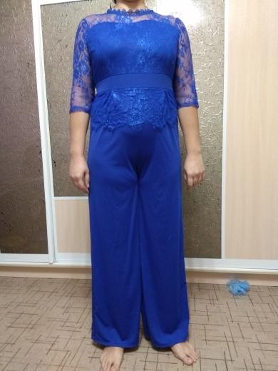 Lace Jumpsuit Women Rompers Autumn 2018 Elegant Ladies Office Work Wear overalls for Women Wide Leg Playsuit Tracksuit Long Pant