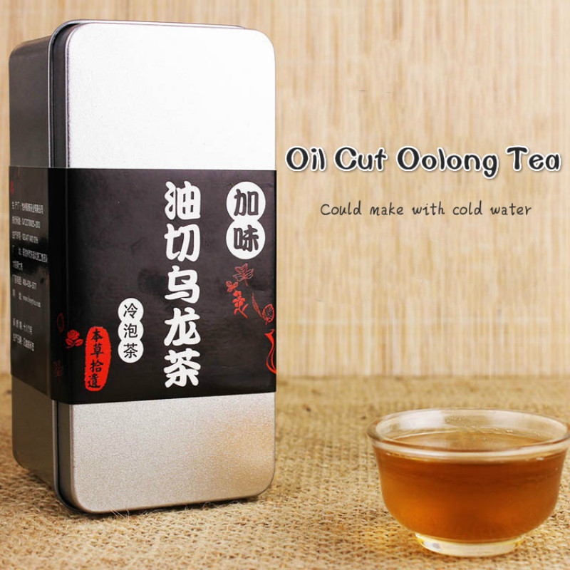 Oil Cut Black Oolong Herbal Tea For Lose Weight Resolve Fat Againts Constipation Makeable With Cold Water Health Care 30 pieces