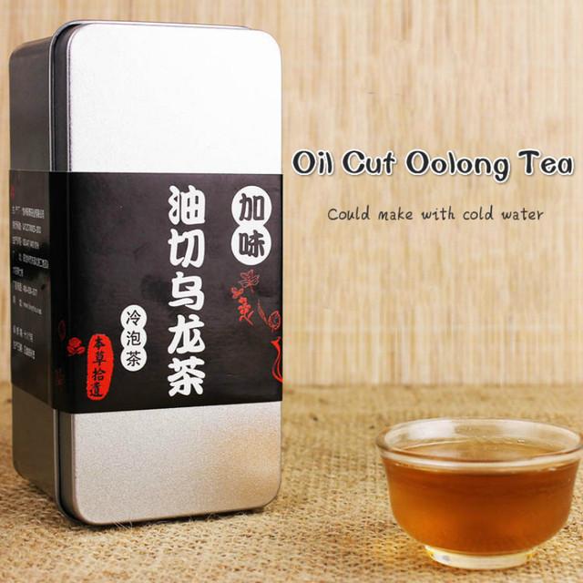Resolver Oil Cut Preto Oolong Chá de Ervas Para Perder Peso Cuidados de Saúde gordura Againts Constipação Factível Com Água Fria 30 peças