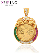 Xuping Synthetic Cubic Zirconia Elegant Medal Design for Women Pendant Valentines Day Jewelry Gifts S59,4-34227