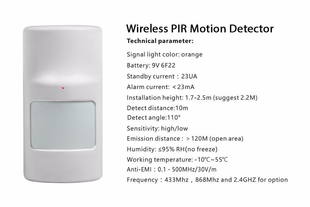 fi gsm sistema alarme em casa sem fio segurança GS-WMS08