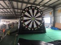Factory direct sales of inflatable toys, Inflatable dart board, soccer standard plate, inflatable slides, TB 008