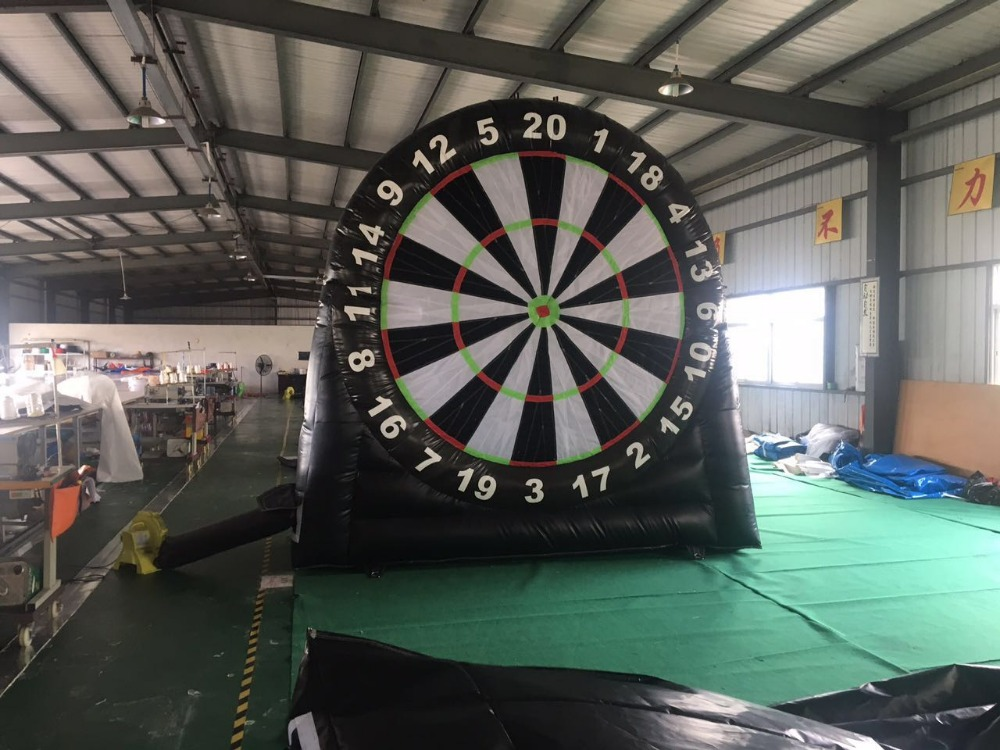 Factory direct sales of inflatable toys, Inflatable dart board, soccer standard plate, inflatable slides, TB-008