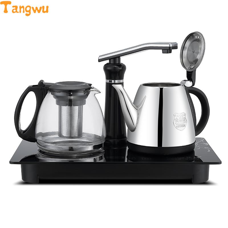 Free shipping The automatic water pumping electric kettle to boil make tea pot insulation suit