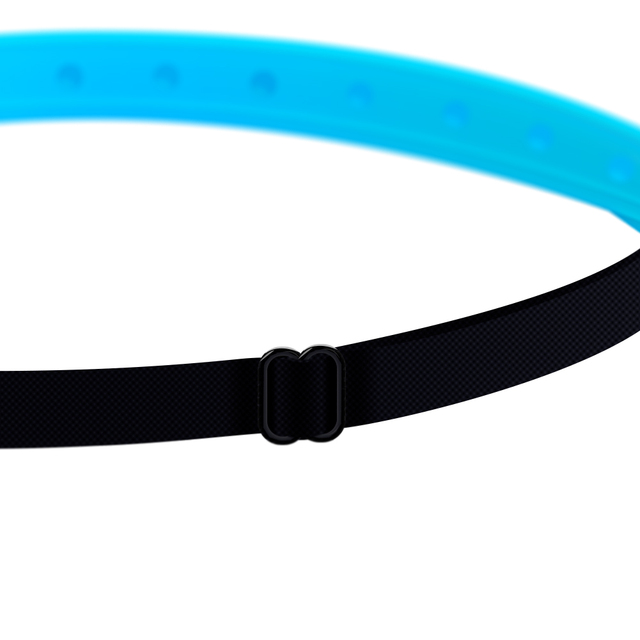 Adjustable Silicone Gym Headband  4 colors