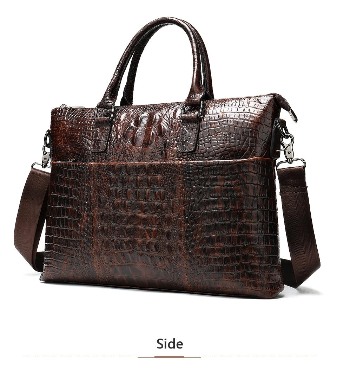 HTB1azYUe.GF3KVjSZFmq6zqPXXai WESTAL Men Briefcase Men's Bag Genuine Leather Office Bags for Men Laptop Bag Leather Briefcase Men Croco Design Computer Bags