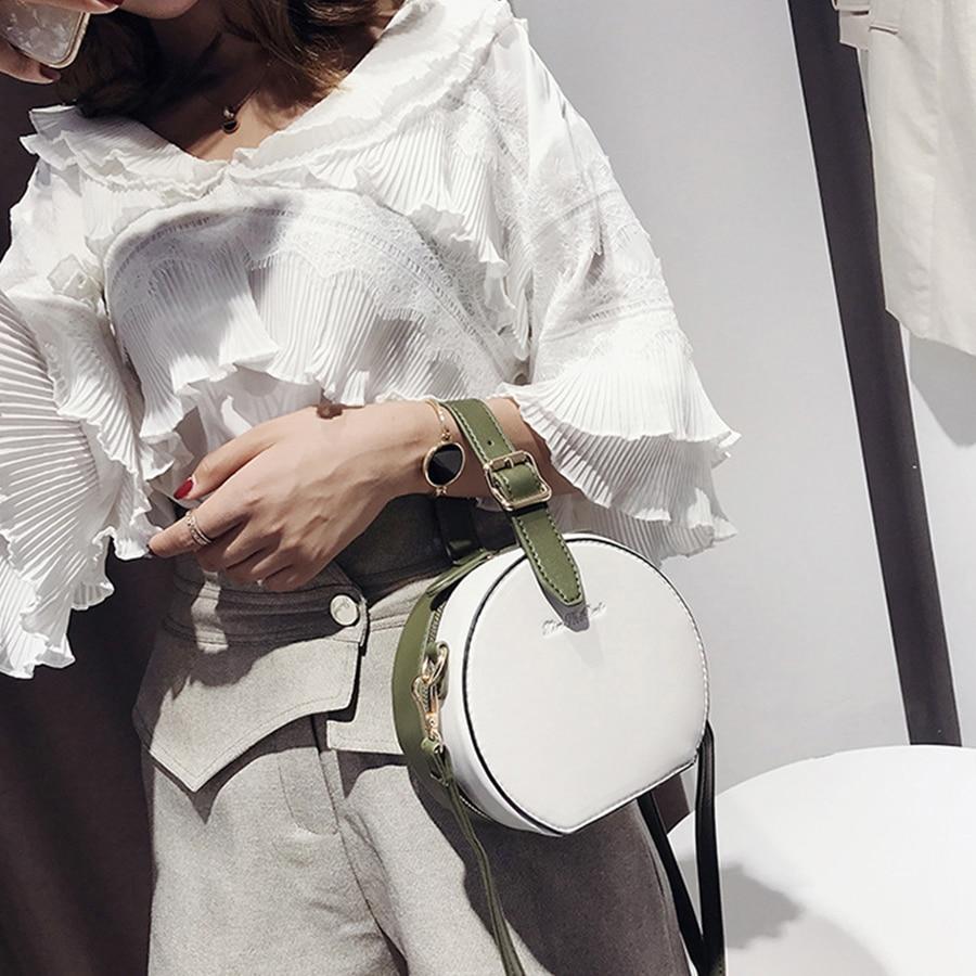 Fashion Belt Women HandBag Solid Color Designer Shoulder Messenger Bag Designer Crossbody Bag Evening Clutch Purse 2019