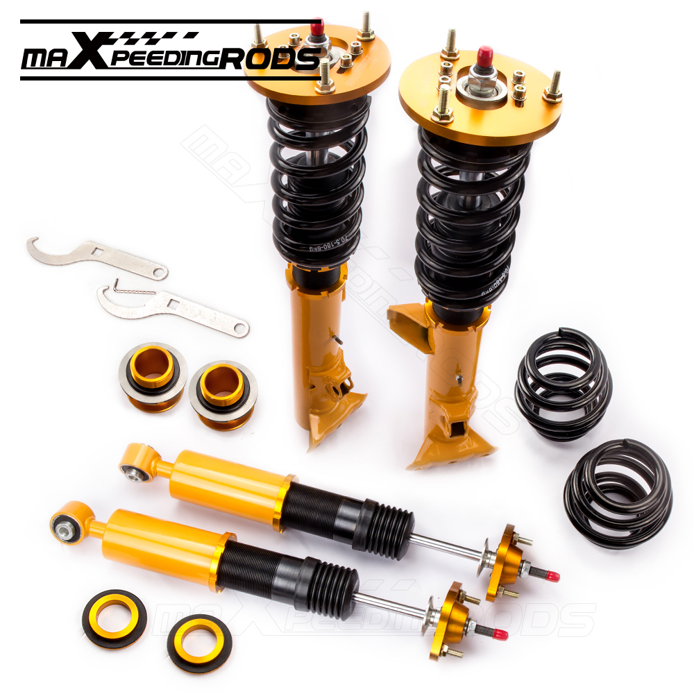 Adjustable damper shock struts coilovers suspensions kit for bmw e36 m3 3 series 328i 328is 328ic