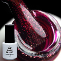 BORN PRETTY 5ml One-step Gel Polish Red White Black Soak Off UV Lamp Nail Gel Lacquer Manicure Nail Art UV Gel Polish