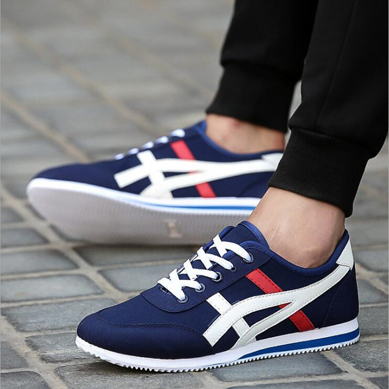 2018 fashion men's casual shoes air network canvas shoes men's outdoor walking breathable shoes male apartments