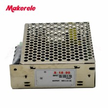 Switching power supply AC-DC 90v 0.2a Meanwell dc 0.2 amp 18W S-18-90 supplies unit Smps