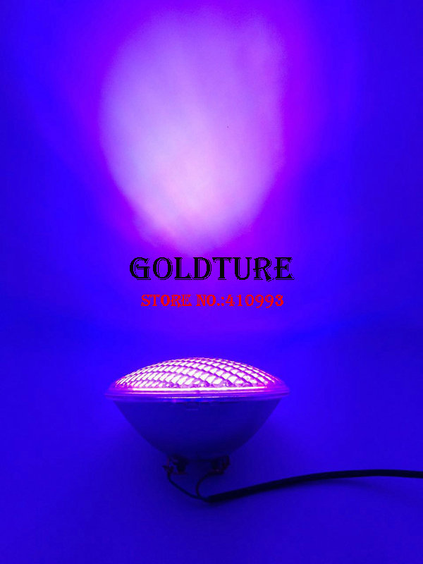 Garden LED Pond lights 18W 36W 45W 54W RGB Swimming Pool Light IP68 Waterproof PAR 56 Spot 12V Fountain Lamps Warm White Cold