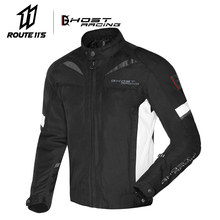 GHOST RACING Motorcycle Jackets Protective Gear Windproof Men Moto Jacket Motocross Off-Road Racing Jacket Motobiker Clothing цена и фото
