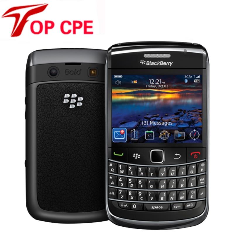 bilder für 9780 Original Handy Blackberry 9780 Entsperrt Handys Wifi GPS Bluetooth 3G 5MP Kamera 2,4 ''480x360 bildschirm Freies Verschiffen
