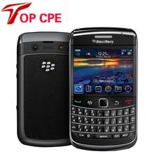 9780 Оригинальный Телефон Blackberry 9780 Разблокирована Мобильные Телефоны Wi-Fi GPS Bluetooth 3 Г 5MP Камера 2.4 »480×360 экран Бесплатная Доставка