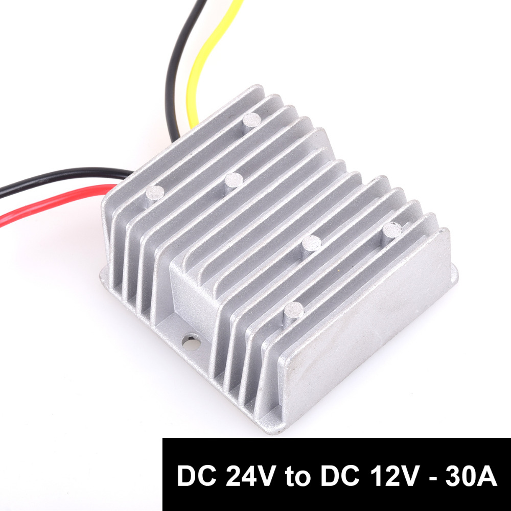Dc 24v to dc 12v step down 30a 360w truck power supply for Power supply for 24v dc motor