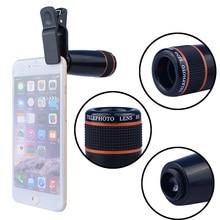 2017 Common 8x Zoom Lenses Telescope Cellphones Digital camera Lens For Iphone 6 6s 7 plus Samsung galaxy s5 s6 s7 LG Smartphone
