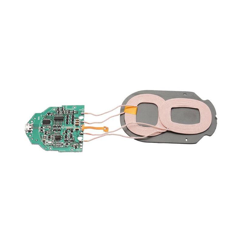 באיכות גבוהה 10w Qi מהיר-טעינה אלחוטי מטען Pcba לוח עם Dual 2-חוט מעגל טעינה אלחוטי סטנדרטי אבזרים