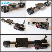 ball linear rail guide roller shaft guideway toothed belt driven