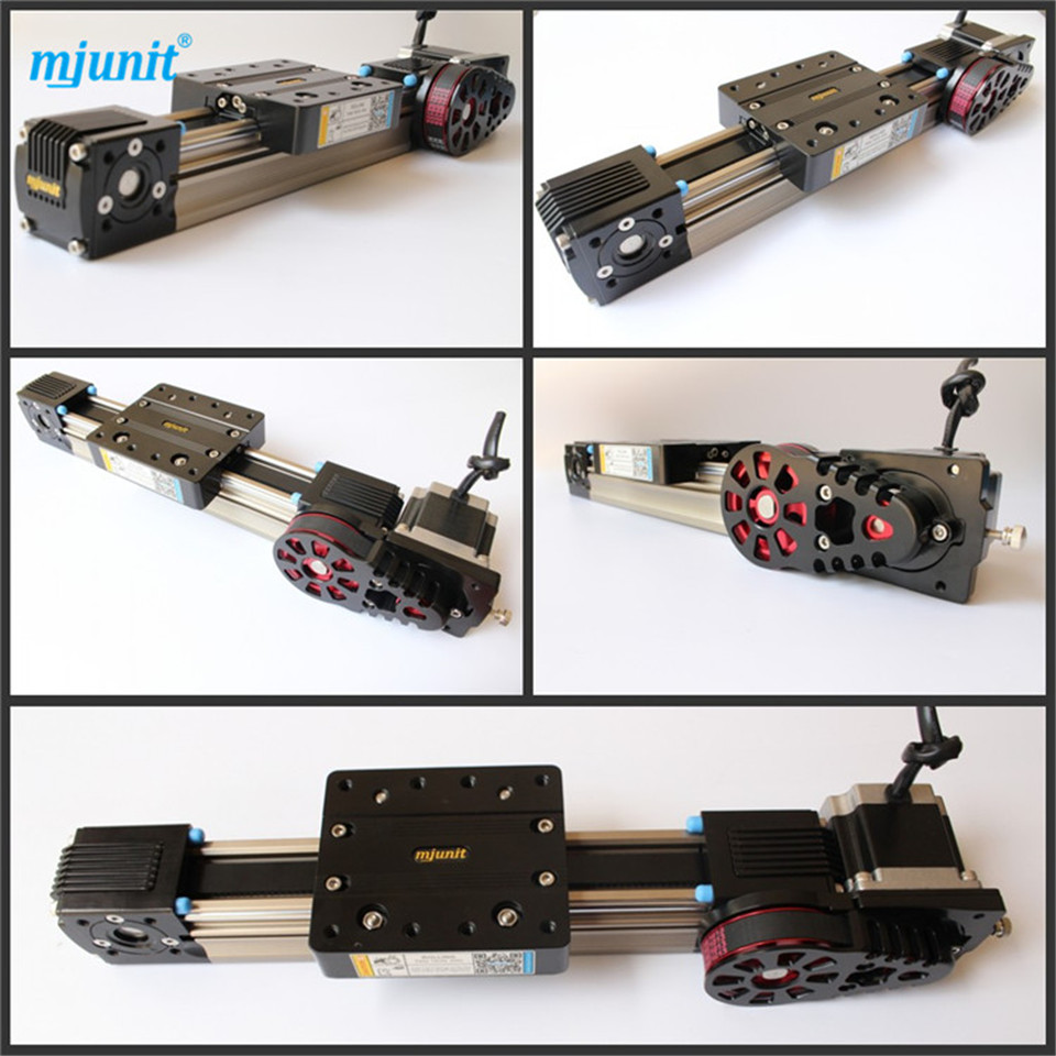 ball linear rail guide roller shaft guideway toothed belt driven belt driven linear slide rail belt drive guideway professional manufacturer of actuator system axis positioning