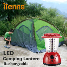 iTenns Camping lights Handled LED Lanterns Fishing light Emergency light Solar charging factory dimmer brightness free shipping