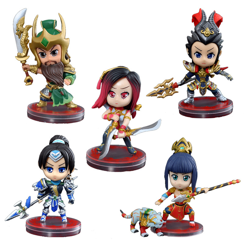 Toys For Romance : Game pvc quot action figures romance of the three kingdoms