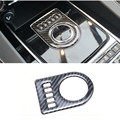 1pcs Carbon fibre Decorative Car Shift Gear Panel Trim Gear Frame Cover Sticker Fit For Jaguar XF XE F-PACE