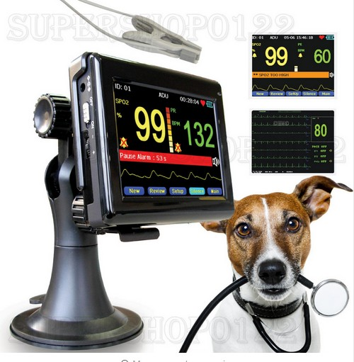 CONTEC PM60A Vet pulse oximeter,patient monitor+vet Spo2 PR probe,veterinary,animal Handheld, CE ems free shipping ce approve pm60a portable pulse oximeter and heart rate monitor for veterinary