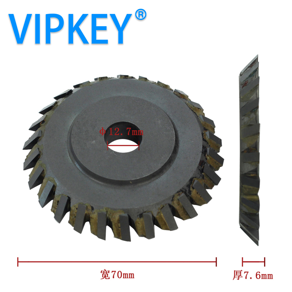 70 12 7 7 6mm 100E1 key cutting machine durable right saw blade side milling cutter