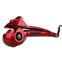 Automatic Hair Steam Curler Ceramic Curling Iron Wand Salon Professional Auto Rotating Styling Steamer Spray Curl