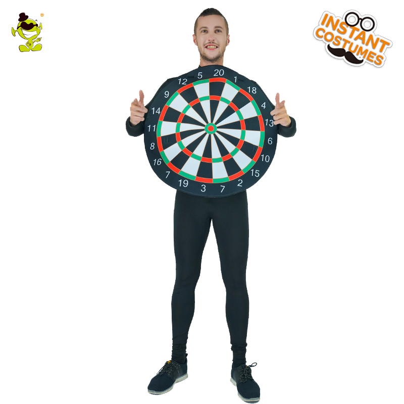 Men's Dartboard  Costumes  Emoji Dartboard Jumpsuit Costume Halloween Party Masquerade Play Game Dartboard Costumes