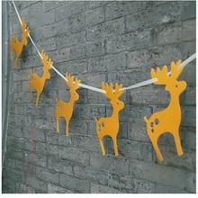 Deer Shaped Banner