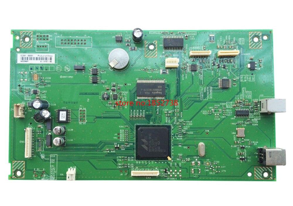 Formatter Board For M1319 M1319F 1319 1319F CC391-60001 Formatter Pca Assy logic Main Board MainBoard mother board formatter pca assy formatter board logic main board mainboard mother board for hp m775 m775dn m775f m775z m775z ce396 60001
