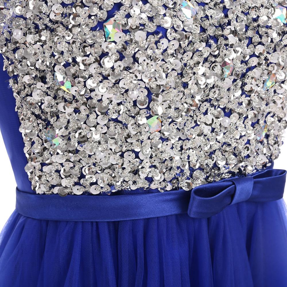 Vakarinė suknelė 2019 Grindų ilgio tamponinės marškinėliai - Ypatinga proga suknelės - Nuotrauka 5
