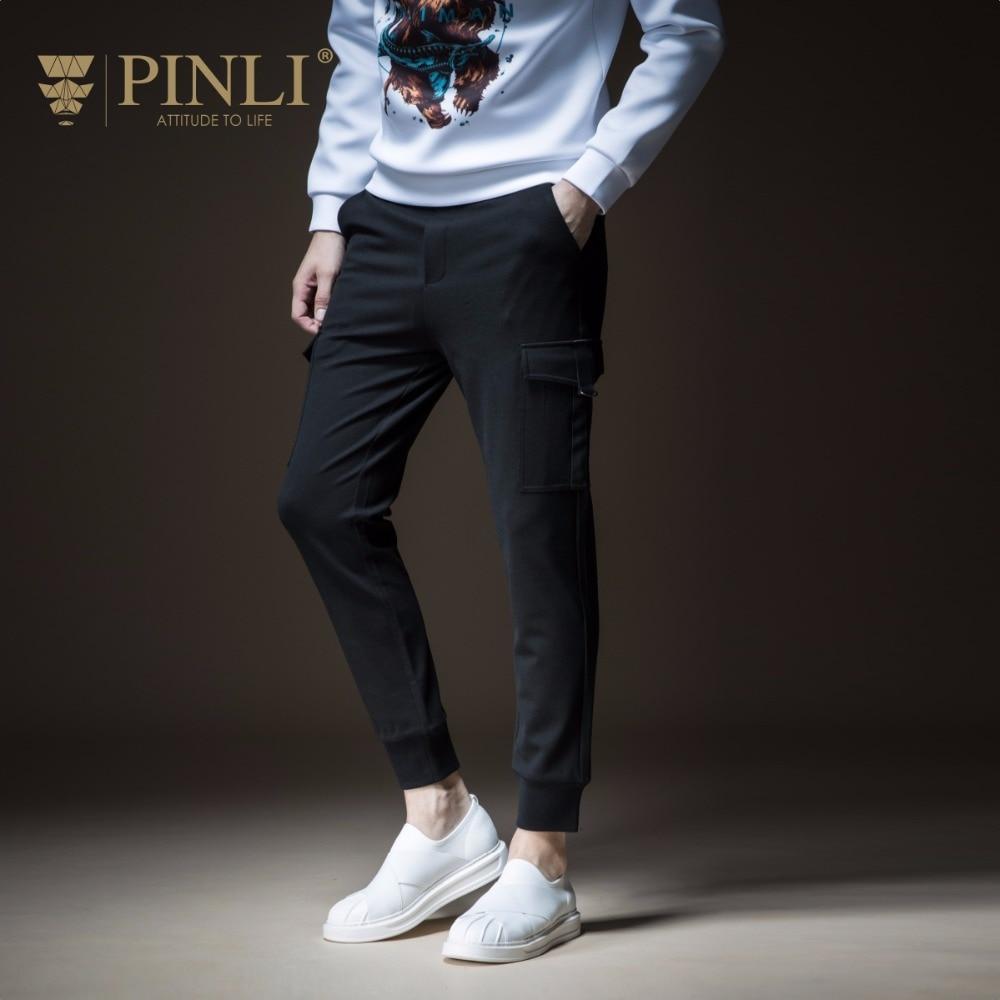2019 Pencil Pants Jogger Skinny Tactical Pants Pinli Pin Li New Style Men's Suit, Bag Pants, Leg Leisure Trousers, B183417313