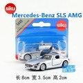 Siku/die cast metal modelos/juguete de simulación: mercedes benz sls amg super sport/para niños regalos o para la colección/muy pequeño