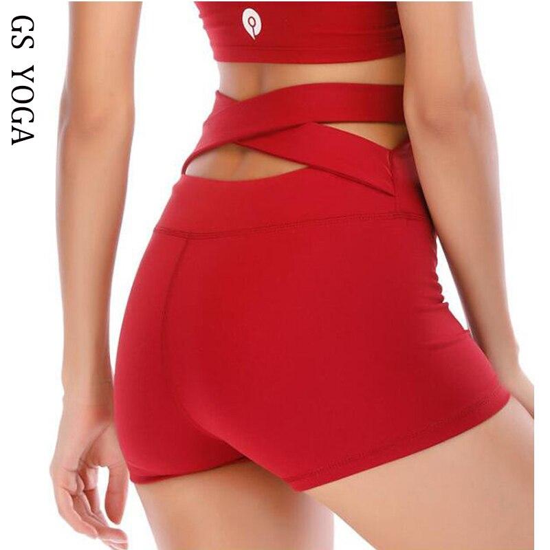 Sokaly Damen Sport-Shorts hohe Taille Weiche Hose mit Taschen f/ür Gym Yoga Radfahren Fitness Laufen Tennis Sport