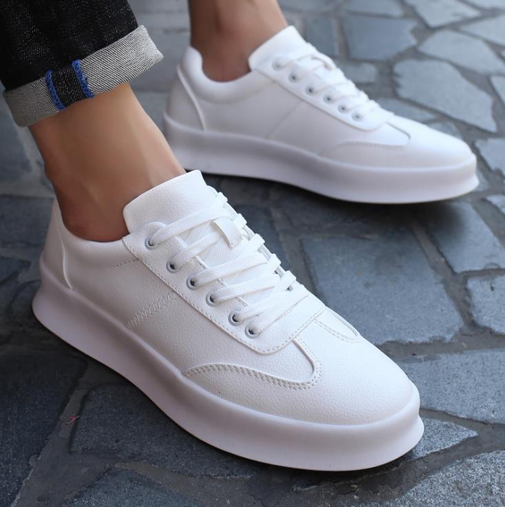 En Fiber Chaussures Noir De Chaud Étudiant Augmenté Blanc 2018 Hommes Occasionnels Sauvage Super rouge Respirant blanc Cuir wOXZuTkPli