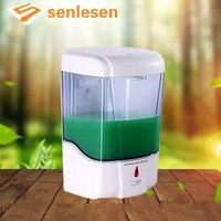 Sprzedaż hurtowa I Detaliczna Plastik ABS Płyn Szampon Butelka Dozownik Mydła Nowa Łazienka Dozownik Mydła Montowany Na Ścianie Automatyczne wykrywanie