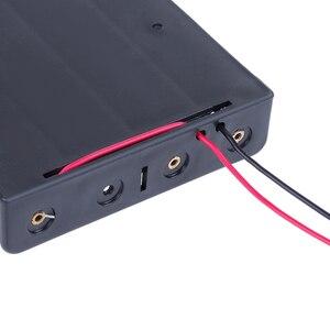 Image 5 - Rovtop 4/3/2/1x18650 pojemnik na baterie przypadku DIY 1 2 3 4 gniazdo sposób baterie zacisk mocujący pojemnik z drut ołowiany Pin Z2