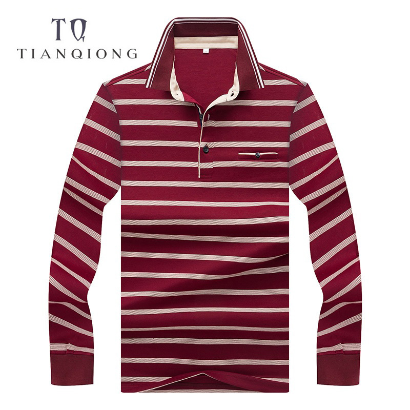 Tian Qiong Branded Plus Size Men Polo Shirt Summer Smart Casual Top